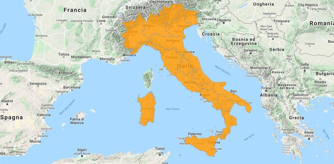 uGeo Italy update