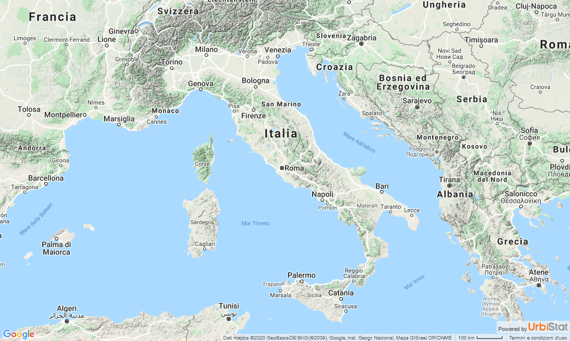 Urbistat Italy updating database