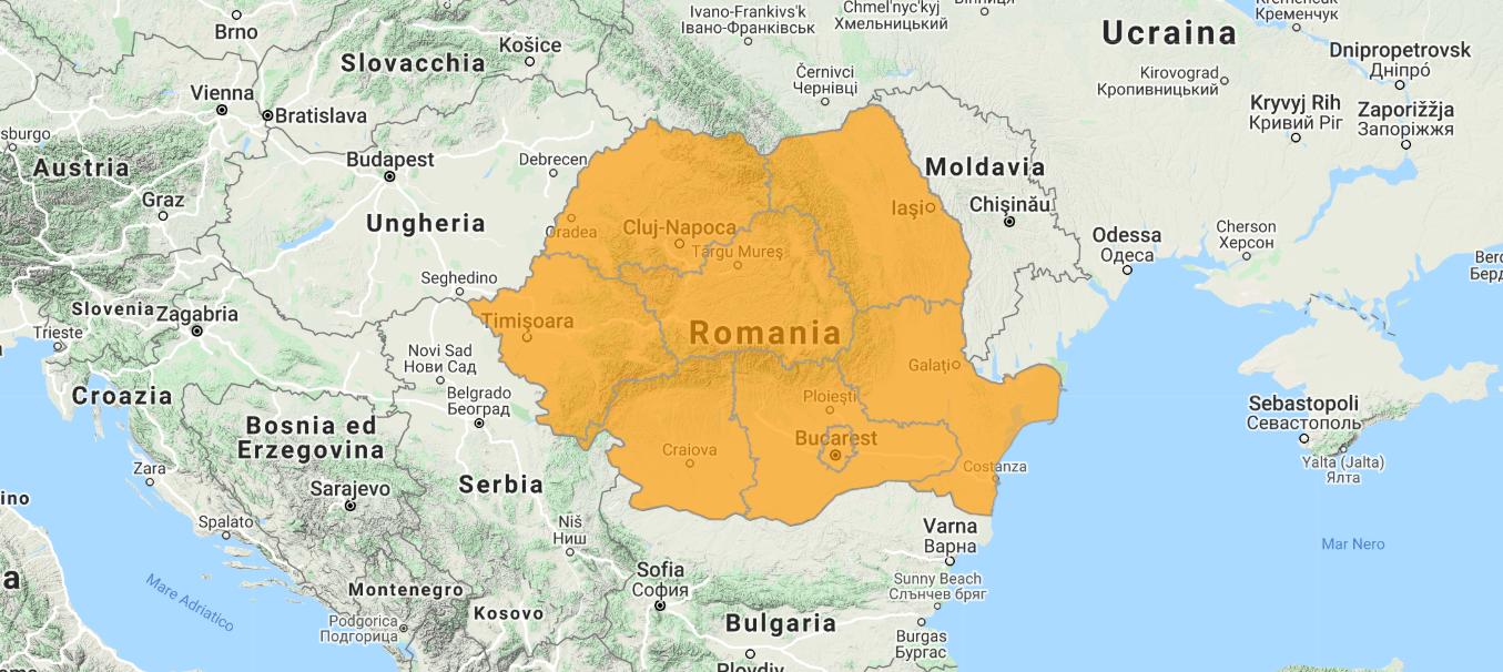 Aggiornamento uGeo Romania