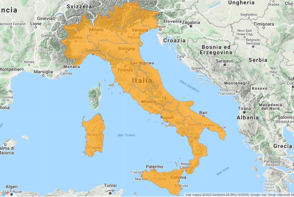 Aggiornamento uGeo Italia